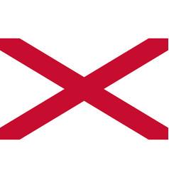 saint patrick flag vector image