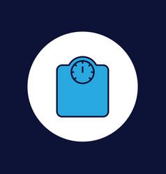 scale icon sign symbol vector image