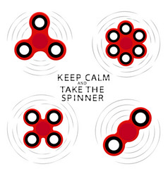 the theme spinner vector image