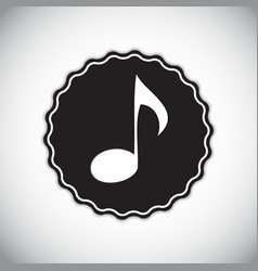 Abstract Music Sign for Your vector image