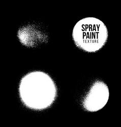 Spray paint splatter texture vector