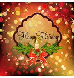 holiday mix vector image vector image
