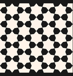 stars seamless texture geometric pattern vector image vector image