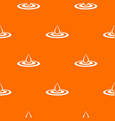 water drop and spill pattern seamless vector image vector image