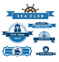 Cruise logo vector image vector image