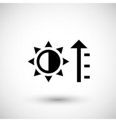 Heating icon symbol vector image