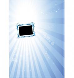 art frame vector image