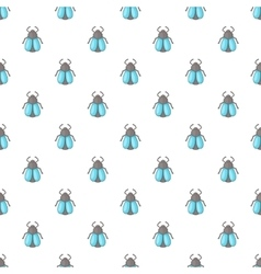 Fly pattern cartoon style vector image