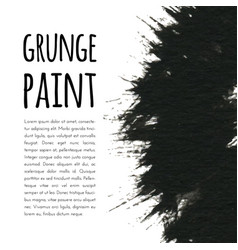 grunge paint background for vector image