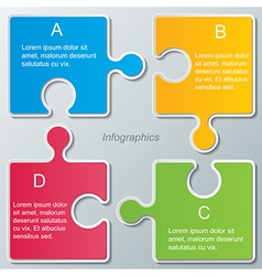 infographic background vector image