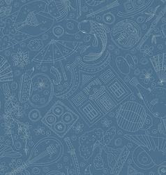 Japanese Seamless Pattern vector