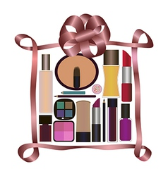 Perfumes and cosmetics vector
