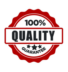 quality guarantee warranty seal best choice vector image