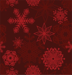 Seamless background winter vector
