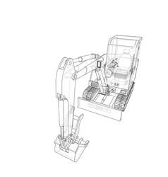 Sketch small treactor with actor vector