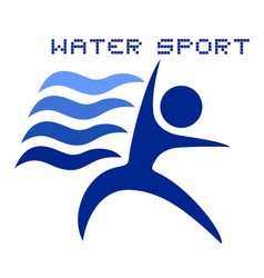 water sport vector image