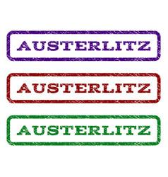 austerlitz watermark stamp vector image