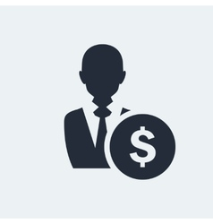 Avatar Flat Icon vector image