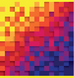 pixel color abstract background vector image