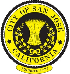 San Jose City Seal vector image