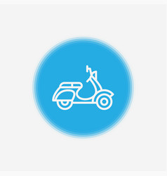scooter icon sign symbol vector image