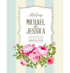 The Wedding Card vector