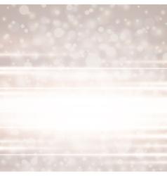 Lens flare light background vector image