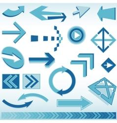 blue finance business background vector image vector image