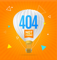 404 not found concept vector image