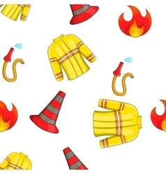 Burning pattern cartoon style vector