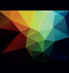 geometric dark color background texture vector image
