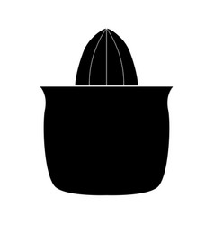 juicer squeezer black color icon vector image