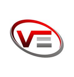 letter v e vector image