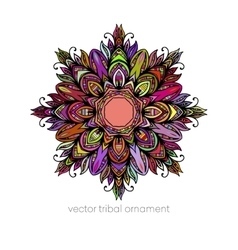 Mandala Ethnic decorative elements vector image