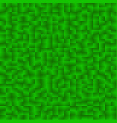 mosaic of squares with random gradients mosaic vector image