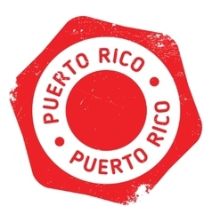 Puerto Rico stamp vector