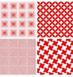Seamless repeat pattern abstract background vector