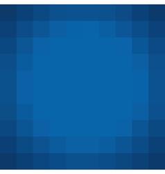 Square pixel blue backdrop vector