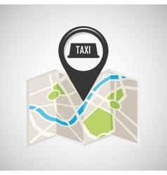 Tax service map pin pointer design vector