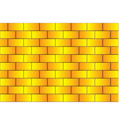Yellow bricks - pattern vector