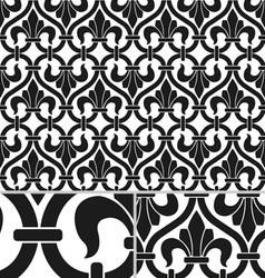 French Victorian vintage seamless pattern vector image vector image