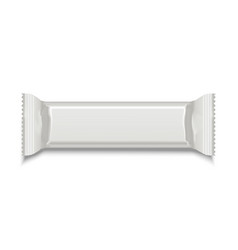 Template White Blank Sweet Stick vector image vector image