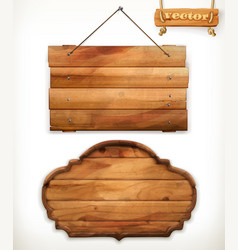 wooden board old wood vector image vector image