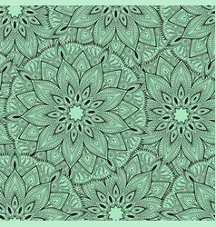 seamless mandala pattern for printing on fabric or vector image