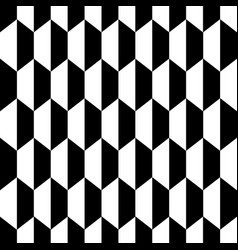 black white honeycomb hexagon seamless background2 vector image