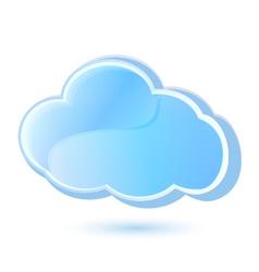 Cloud icon logo vector image vector image
