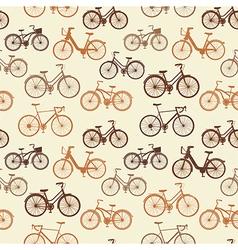 Vintage bikes vector