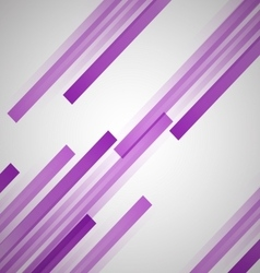 Abstract background with purple straight lines vector