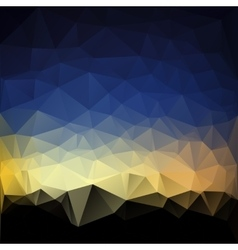 Awesome abstract triangle vector