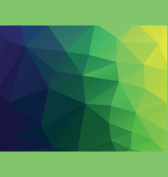 geometric green diamon texture background vector image